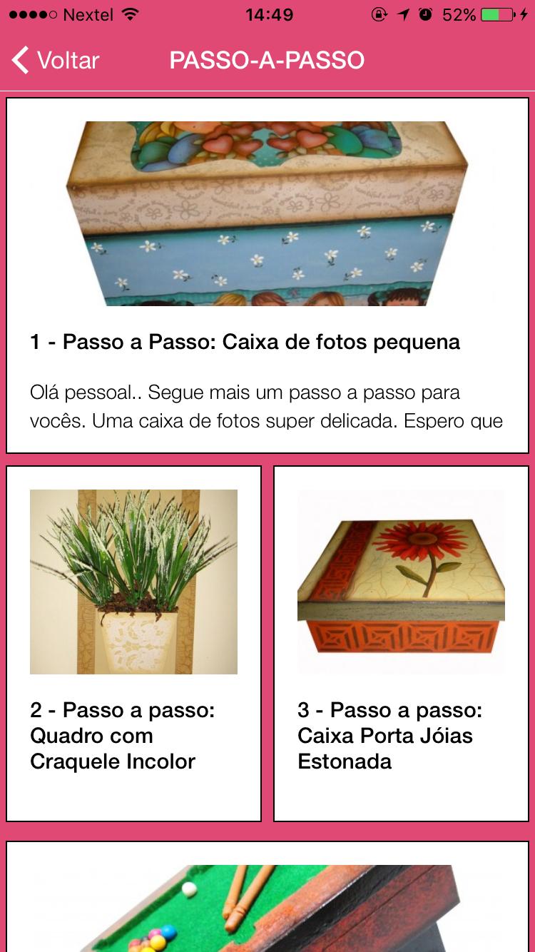 Aplicativo para Celular Livia Fiorelli App