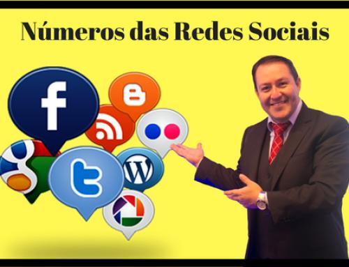 Números das Redes Sociais no Brasil